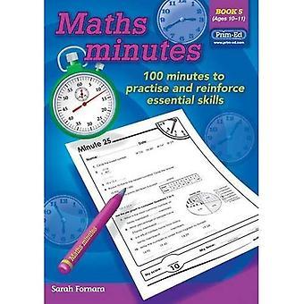 Maths Minutes: Book 5