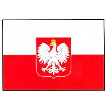 Poland Flag 5ft x 3ft With Eyelets For Hanging