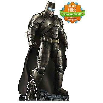 Battle rustning Batman Lifesize kartong utklipp / Standup