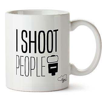Hippowarehouse I Shoot People Printed Mug Cup Ceramic 10oz