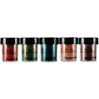 Lindy's Stamp Gang 2-Tone Embossing Powders .5oz 5/Pkg-Autumn