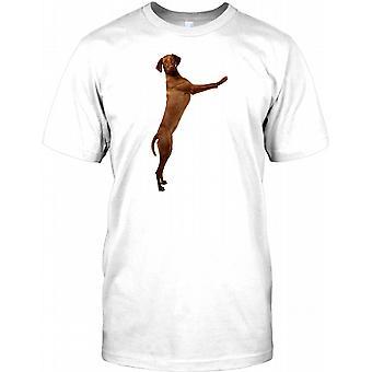 Cool Vizsla Haustier Hund - Zeiger-T-Shirt für Herren