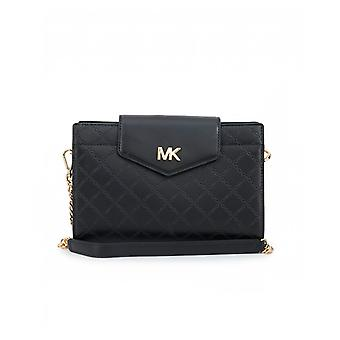 Michael Kors Embossed Leather Crossbody Clutch Bag