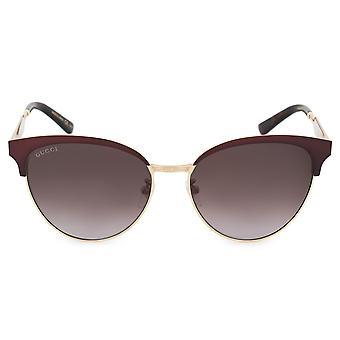 Gucci Cat Eye Sunglasses GG0074S 004 57