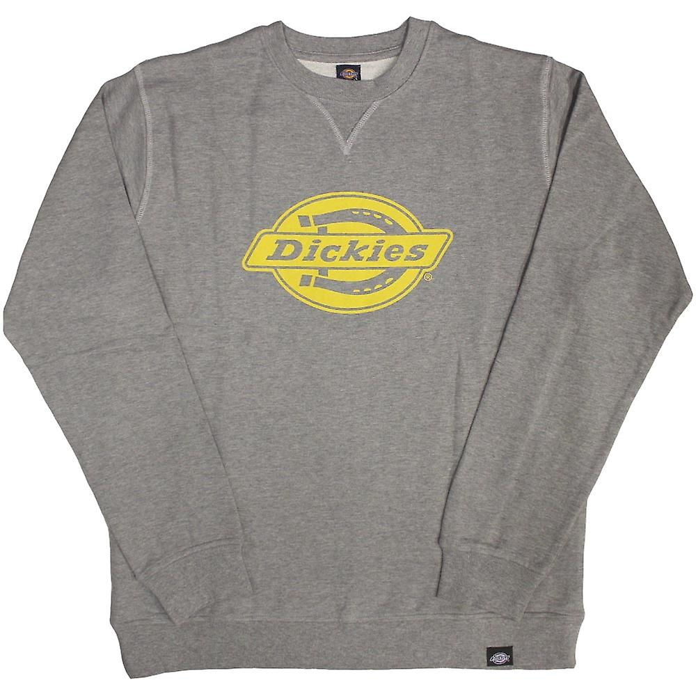 DICKIES Chicago Sweatshirt gris jaune