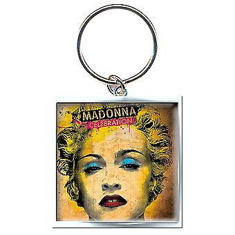 Madonna viering sleutelhanger