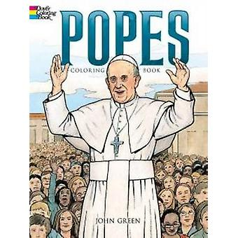 Popes Coloring Book by John Green - 9780486792361 Book