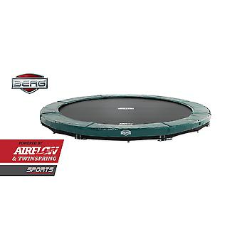 BERG InGround Elite 380 12.5ft Trampoline Sports Series Green
