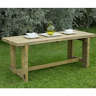 Forest Garden 6 Seat Refectory Table -  1.8m
