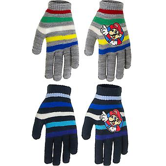 2-Pack Super Mario Camouflage Gloves One Size