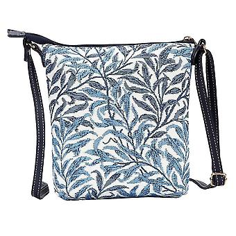 William morris - willow bough shoulder sling bag by signare tapestry / sling-wiow