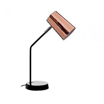 Premier Home Bart bordslampa, metall, koppar