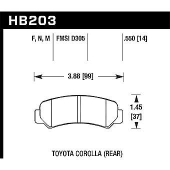 Hawk Performance HB203F.550 HPS