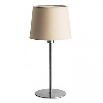 1 Light Table Lamp Satin Nickel