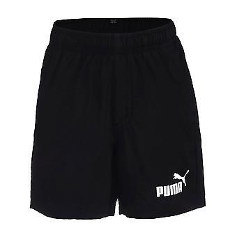 Puma Essentials Woven Kids Sport Summer Holiday Short Black