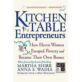 Imprenditori da tavolo da cucina: come undici donne sono sfuggite alla povertà e sono diventate loro stesse