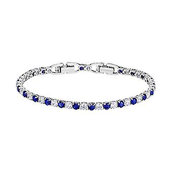 Swarovski Women's Tennis Bracelet Plated_Gold - 5506253