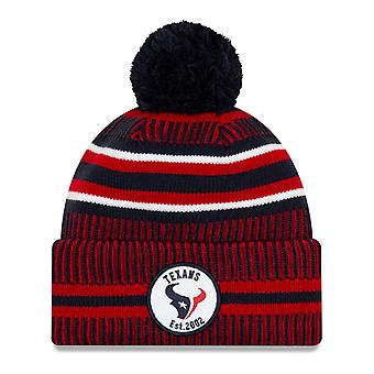 New Era Sideline Bommel Kinder Youth Mütze Houston Texans