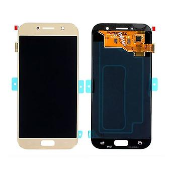 Stuff Certified ® Samsung Galaxy A5 2017 A520 Screen (Touchscreen + AMOLED + Parts) AAA + Quality - Gold