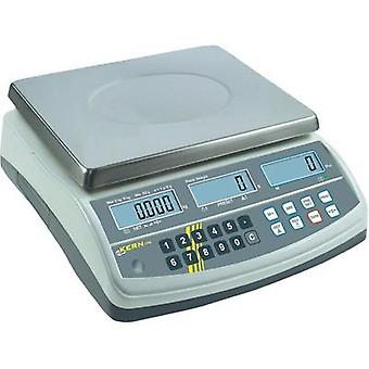 Counting scales Kern Weight range 15 kg Readability 0.2 g