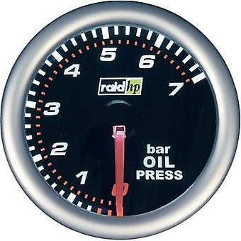 raid hp Oil Pressure Gauge 0 to 7bar 12V