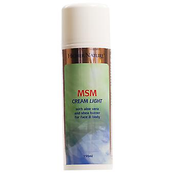 Naturaleza superior MSM crema Light 150ml