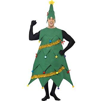 Smiffys New Deluxe Christmas Tree Costume Green Includes Tunic And Hat (Kostuums)