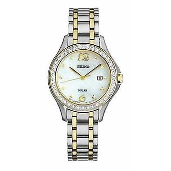 Seiko Womens Solar Mother Of Pearl Dial SUT312P9 Watch