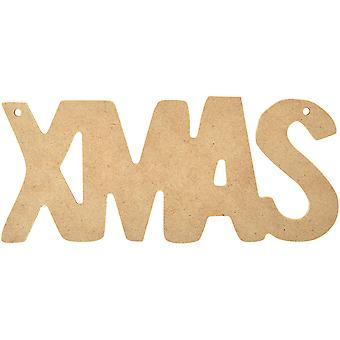 Beyond The Page MDF Xmas Word Decorations-6
