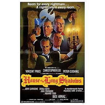House of the Long Shadows Movie Poster (11 x 17)