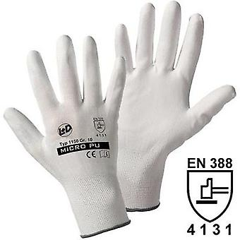 Leipold + Döhle 1150 Micro-fine knitted glove Polyamide with PU-coating