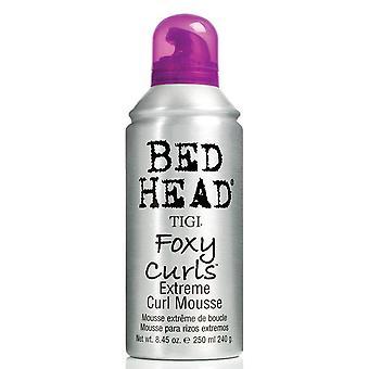 TIGI Bed cabeza Foxy rizos extremos Curl Mousse 250ml espuma para pelo ondulado