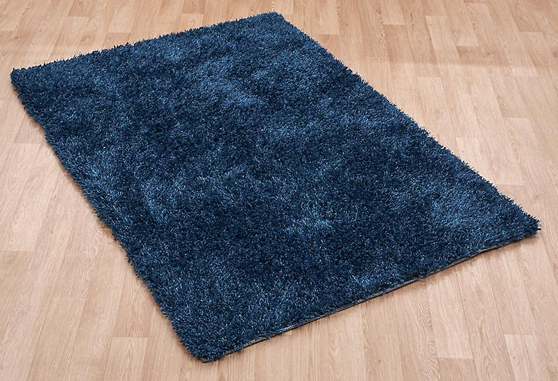 Diva Diva Blue Blue  Rectangle Rugs Plain/Nearly Plain Rugs