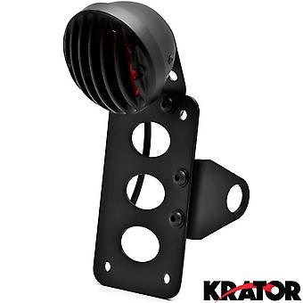 Krator® NEW Black Axle Mount Taillight Horizontal Vertical For Victory Hammer 8-Ball