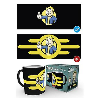 Fallout 4 Vault Boy Hitze ändern Mug