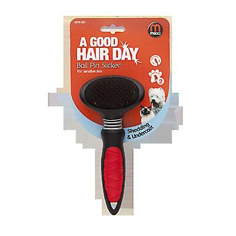 Mikki Easy Grooming Ball Pin Slicker Small