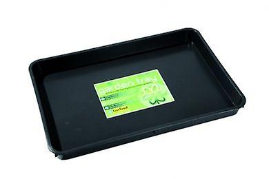 Standard Garden Tray Black Garden Plastic Grow Potting