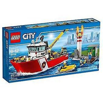 Lego 60109 Fire Boat (Toys , Constructions , Vehicles)