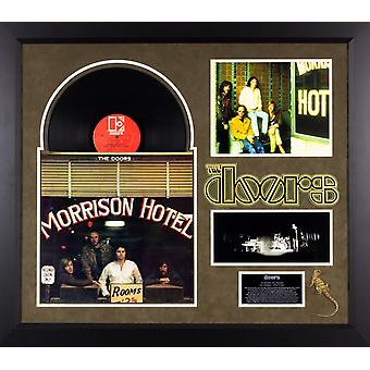 The Doors - Hotel Morrison - Vintage Vinyl Album Custom Framed Collage
