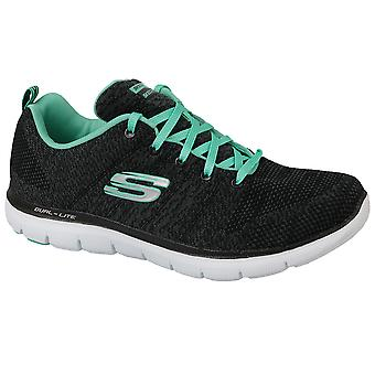 b92a67b574e9 Sale Skechers Flex Appeal 2.0 12756-BKAQ Womens fitness shoes