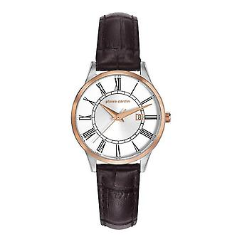 Pierre Cardin ladies watch bracelet watch Le Bouscat leather PC901732F04