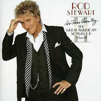 Rod Stewart - As Time Goes by the Great Amer [CD] USA import