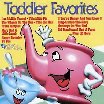 Yndlings serie - Toddler favoritter [CD] USA importerer