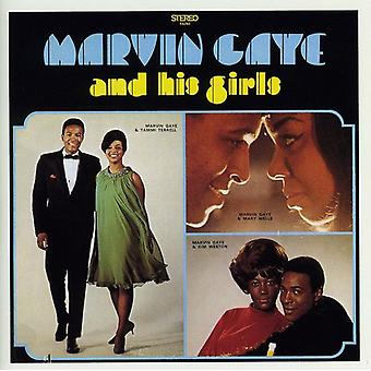 Marvin Gaye - Marvin & His Girls [CD] USA import