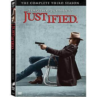 Justified - Justified: Season 3 [DVD] USA import