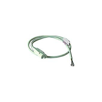 Kettle Lead Straight 1 Metre 10 Amp White