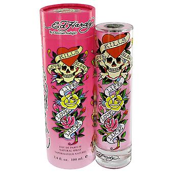 Christian Audigier Women Ed Hardy Body Lotion By Christian Audigier