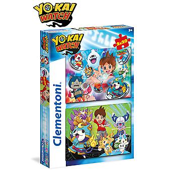 Clementoni Yokai Watch Puzzle Doble 2X20 Piezas (Toys , Preschool , Puzzles And Blocs)
