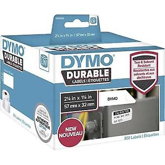 DYMO Labels (roll) 57 x 32 mm PE film White 800 pc