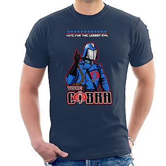 GI ジョー投票コブラ ・ コマンダー小悪男の t シャツ